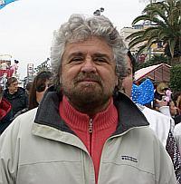 Beppe Grillo, Bildquelle: Wikimedia - User: Elena Torre